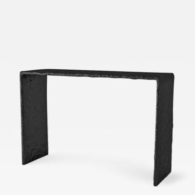 Victoria Yakusha Sculpted Contemporary Console Table by Victoria Yakusha