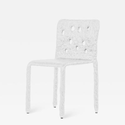 Victoria Yakusha White Sculpted Contemporary Chair by FAINA
