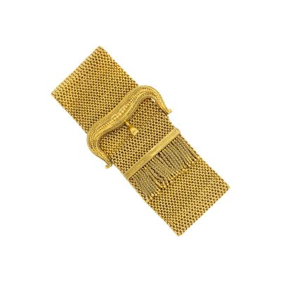 Victorian Gold Buckle Bracelet