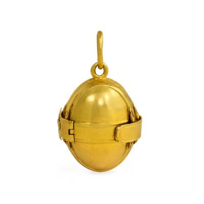 Victorian Gold Eight Picture Ball Locket