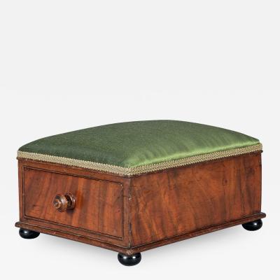 Victorian Mahogany Footstool