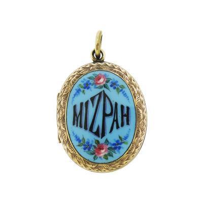 Victorian Mizpah Pendant