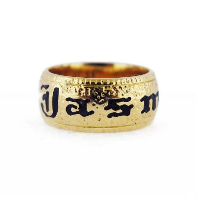 Victorian Morning Band Ring