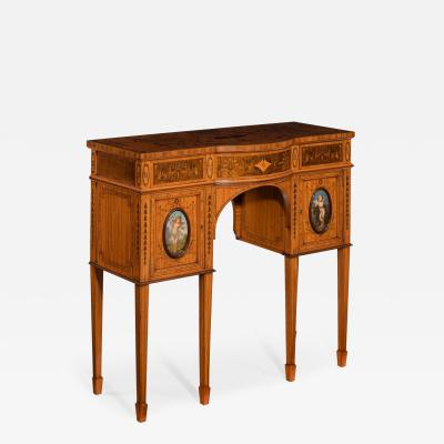 Victorian satinwood console table