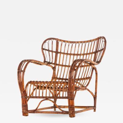 Viggo Boesen Easy Chair Produced by E V A Nissen Co