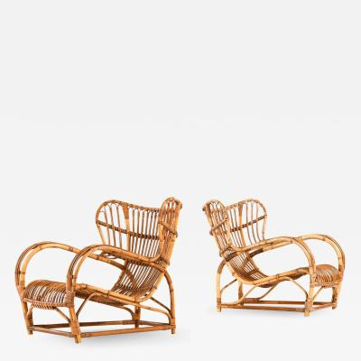 Viggo Boesen Easy Chairs Model 3440 Produced by R Wengler
