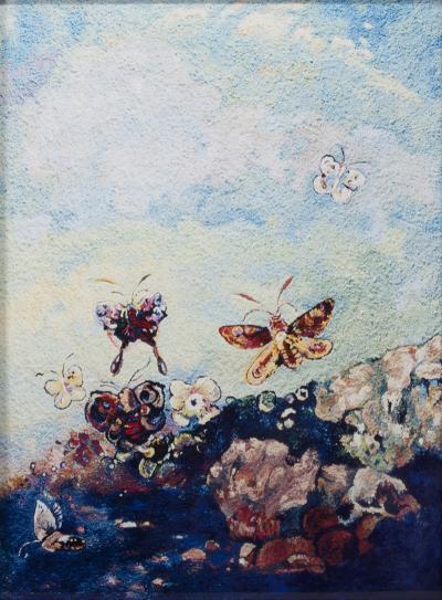Vik Muniz Butterflies after Odilon Redon