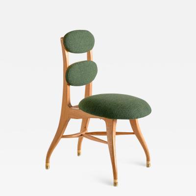Vilhelm Lauritzen Vilhelm Lauritzen Musician Chair in Oak Designed for Radiohuset Denmark 1950s