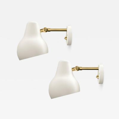 Vilhelm Lauritzen Vilhelm Lauritzen Radiohus Sconces for Louis Poulsen