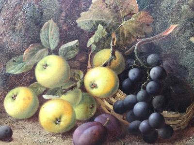 Vincent Clare Apples Grapes Plums