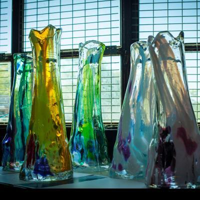 Vincent Poujardieu NOVEMBRE Blown Glass Vase
