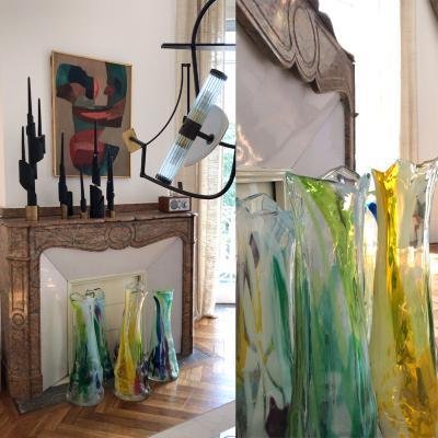 Vincent Poujardieu SEPTEMBRE Blown Glass Vase