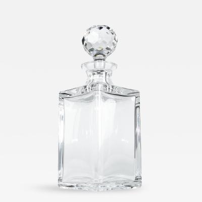 Vintage Art Deco Crystal Drinks Decanter