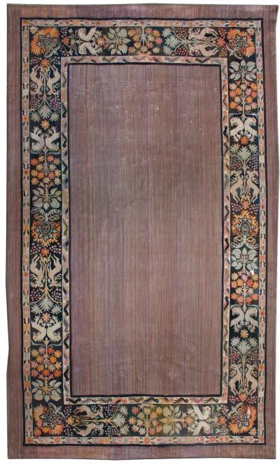 Vintage Aubusson Carpet