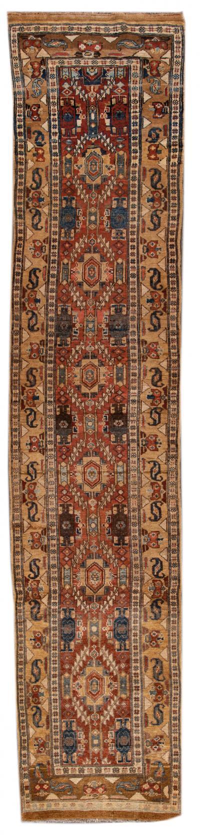 Vintage Bakshaish Tribal Wool Runner