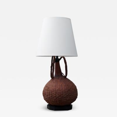 Vintage Basket Lamp