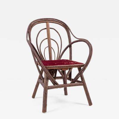 Vintage Bent Willow Childs Chair