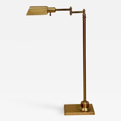 Vintage Brass Floor Lamp American