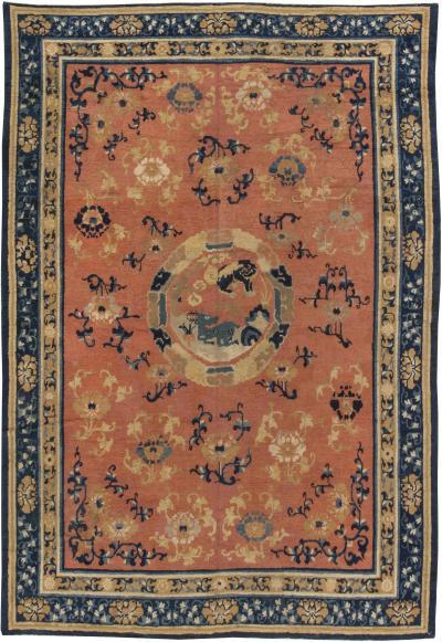 Asian Decorative Arts – Rugs & Textiles