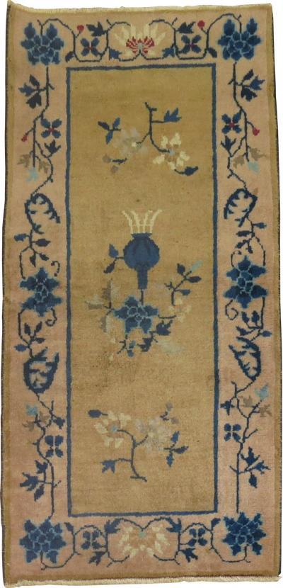 Vintage Chinese rug no j1038