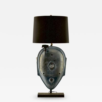 Vintage Chris Craft Wood Boat Lamp