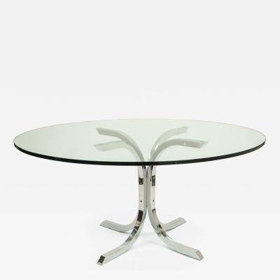 Vintage Chrome Dinning Table