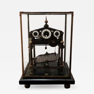 Vintage Congreve Style Brass Time Machine