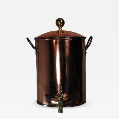 Vintage Copper Coffee Urn Beverage Server
