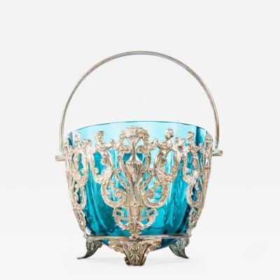 Vintage English Silver Plate Decorative Dome Piece