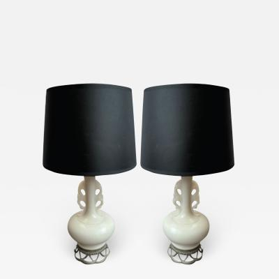 Vintage French Table Lamps