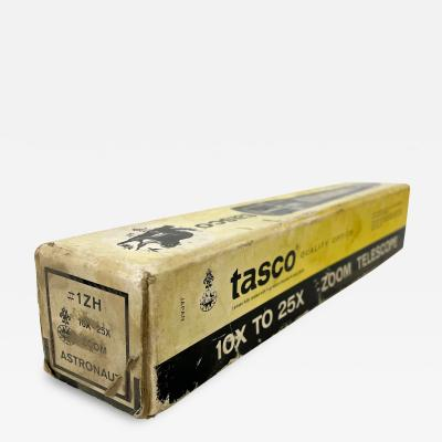 Vintage Industrial TASCO Telescope With Original Package Box