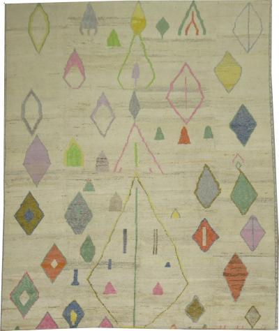 Vintage Inspired Old Wool Turkish Tulu rug no j1491