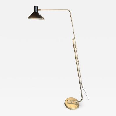 Vintage Italian Floor Adjustable Lamp 1960s