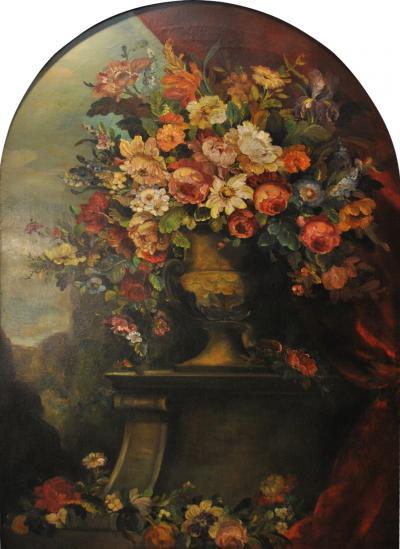 Vintage Italian Floral Still life