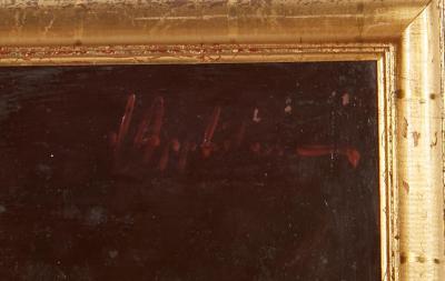 Vintage Jean Appleton Australian Oil Painting or a Gentleman
