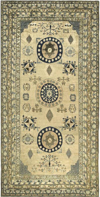 Vintage Khotan Samarkand Carpet
