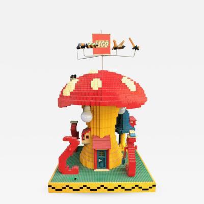 Vintage Lego Advertising Store Display Mushroom Lamp circa 1970