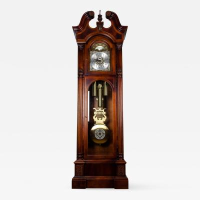 Vintage Mahogany Grand Fathers Clock