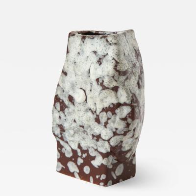 Vintage Mid Century Ceramic Vase by ES Keramik W Germany c 1960s