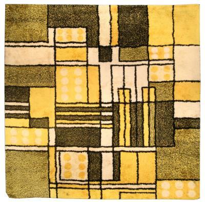 Vintage Modernist Rug