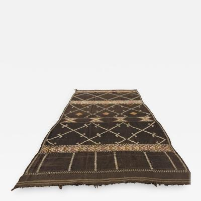 Vintage Moroccan African Nomadic Tribal Rug