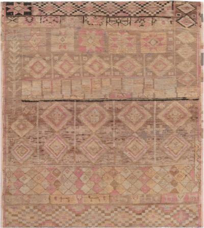 Vintage Moroccan Rug fragment