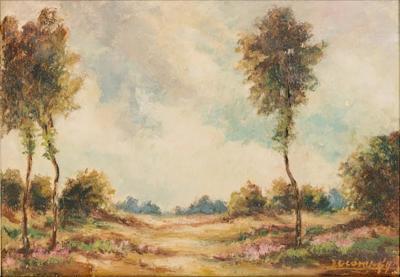 Vintage Oil Painting circa 1920