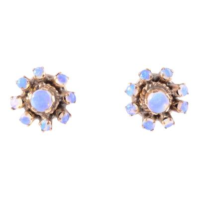 Vintage Opal Earrings