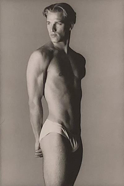 Vintage Photograph of a Fit Man American Circa 1970