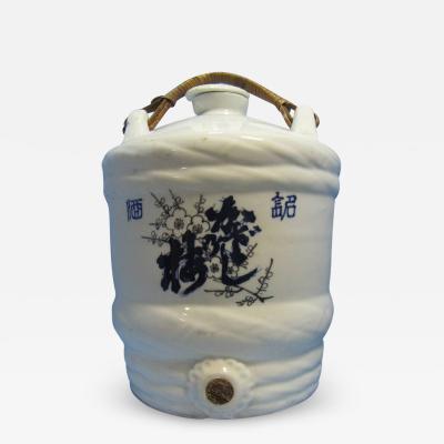 Vintage Sake Storage Jug
