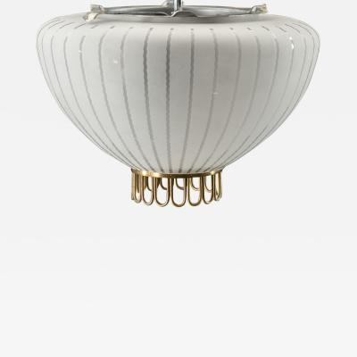 Vintage Scandinavian Flushmount light