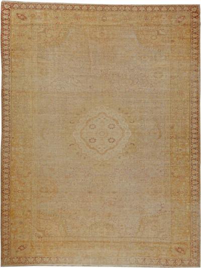 Vintage Silk Turkish Carpet