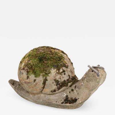 Vintage Snail Garden Ornament