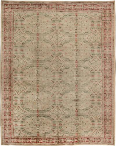 Vintage Spanish Carpet size adjusted